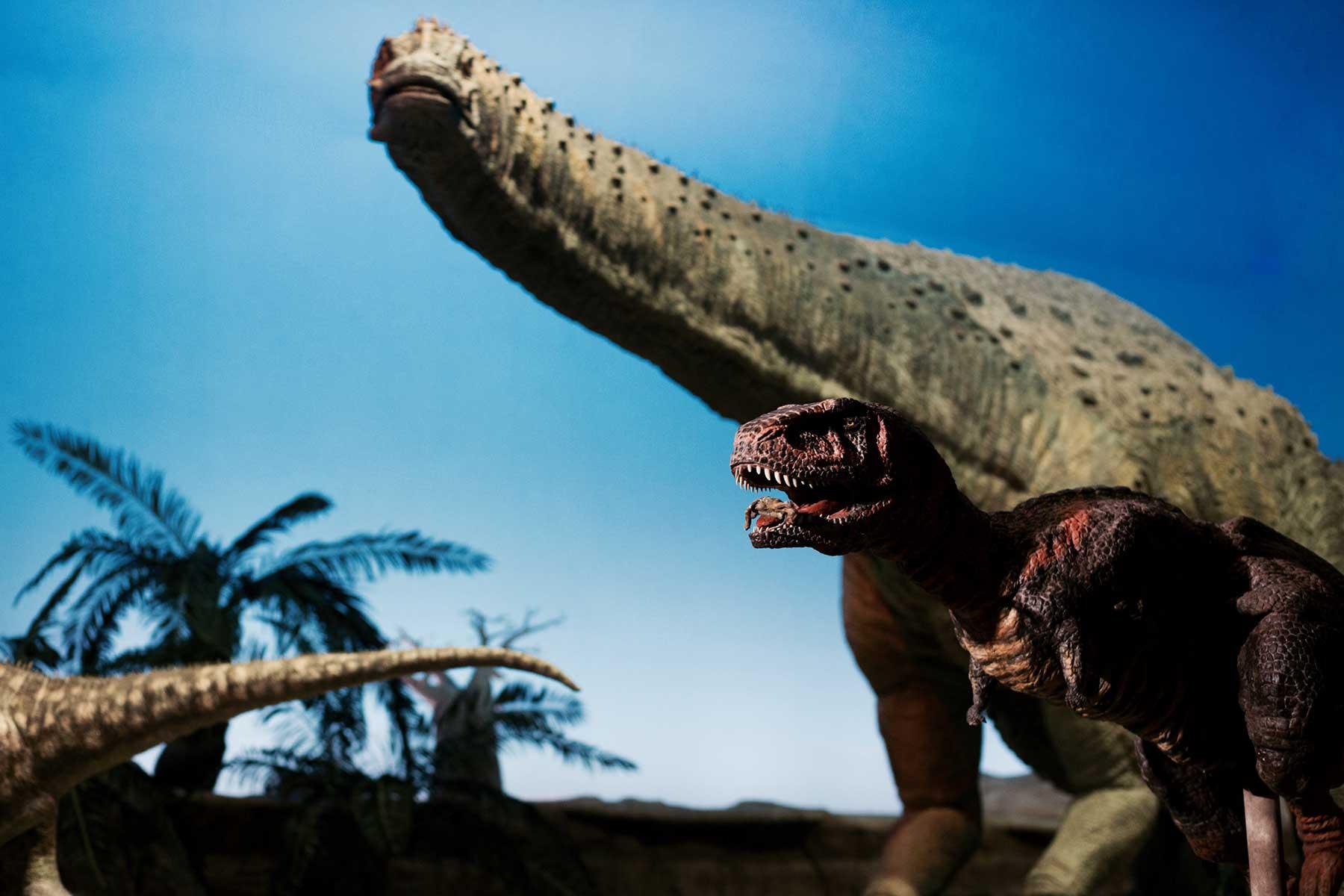 Spectacle de dinosaures